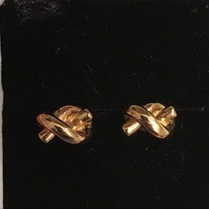 Kate Spade sailor's knot studs earrings